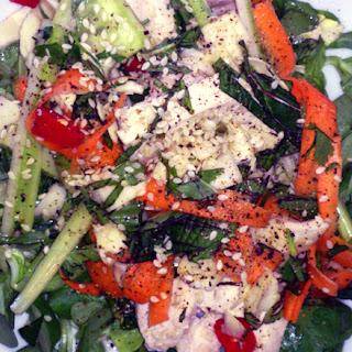 Yin And Yang Chicken Salad