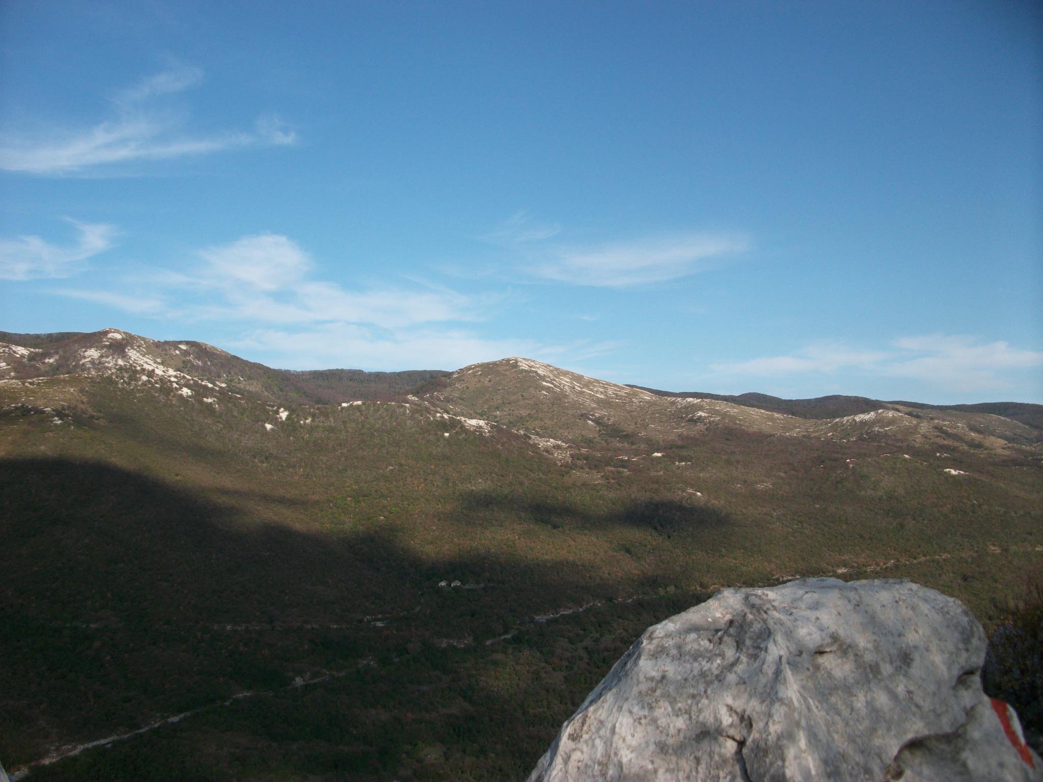 Photo: Vela Pliš sa vrha