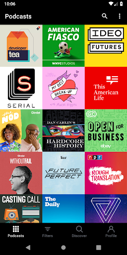 Screenshot for Pocket Casts - Podcast Player in United States Play Store