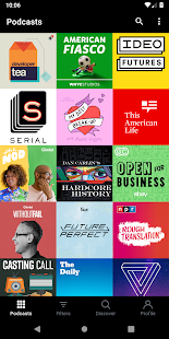 Pocket Casts - Podcast Player Capture d'écran
