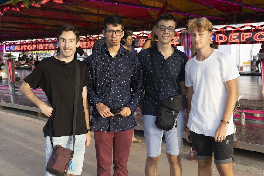 Reinaldo, Ángel, Francisco Javier y Javier