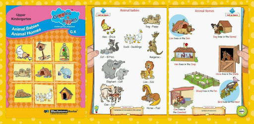 Animal Babies & Animal Homes - Giggles & Jiggles – Apps bei Google Play