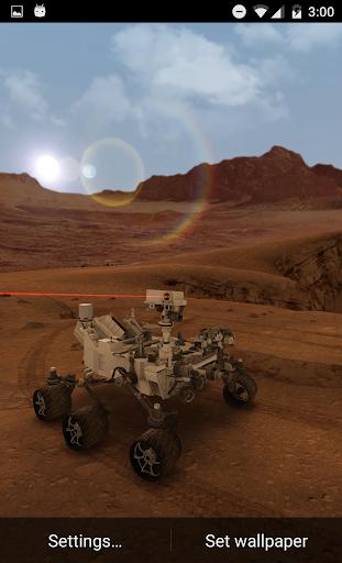 Мой Марс (Живые обои 3D) скачать на планшет Андроид
