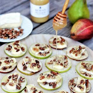 Honey & Brie Pear Sliders.