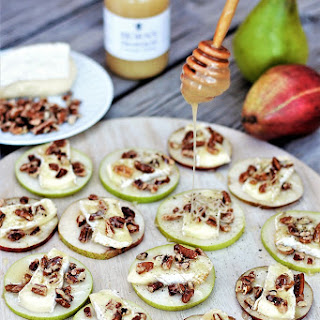 Honey & Brie Pear Sliders.