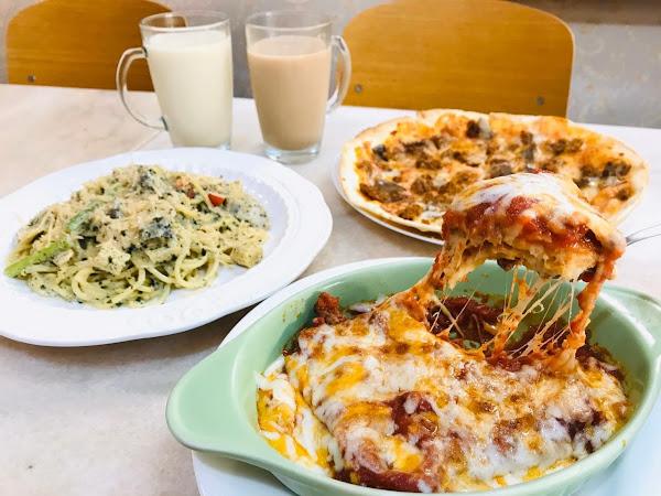 微香自製義大利麵&薄脆羅馬披薩