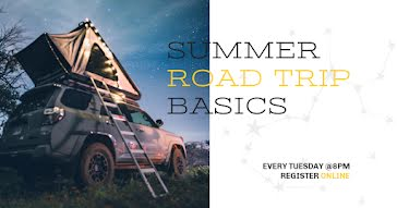 Road Trip Basics - Facebook Event Cover template