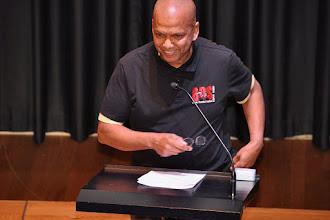 Photo: Farid Esack, hoogleraar theologie aan de Universiteit van Johannesburg