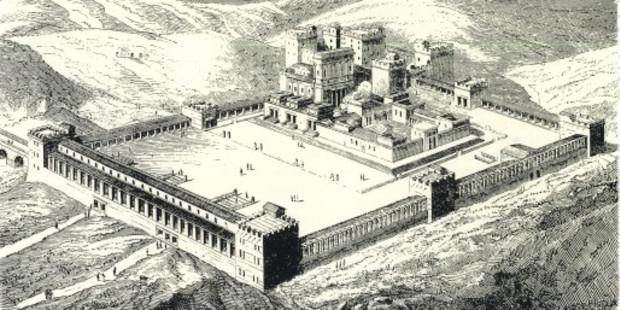 Đền Vua Solomon được tái hiện 3D