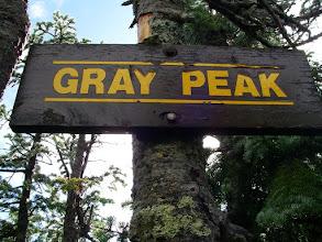 Photo: On Gray Peak.
