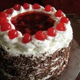 Jenny's Black Forest Cake.