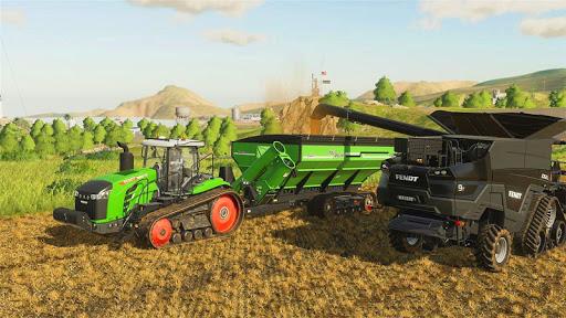 Tractor Cargo Transport: Farming Simulator apkpoly screenshots 5