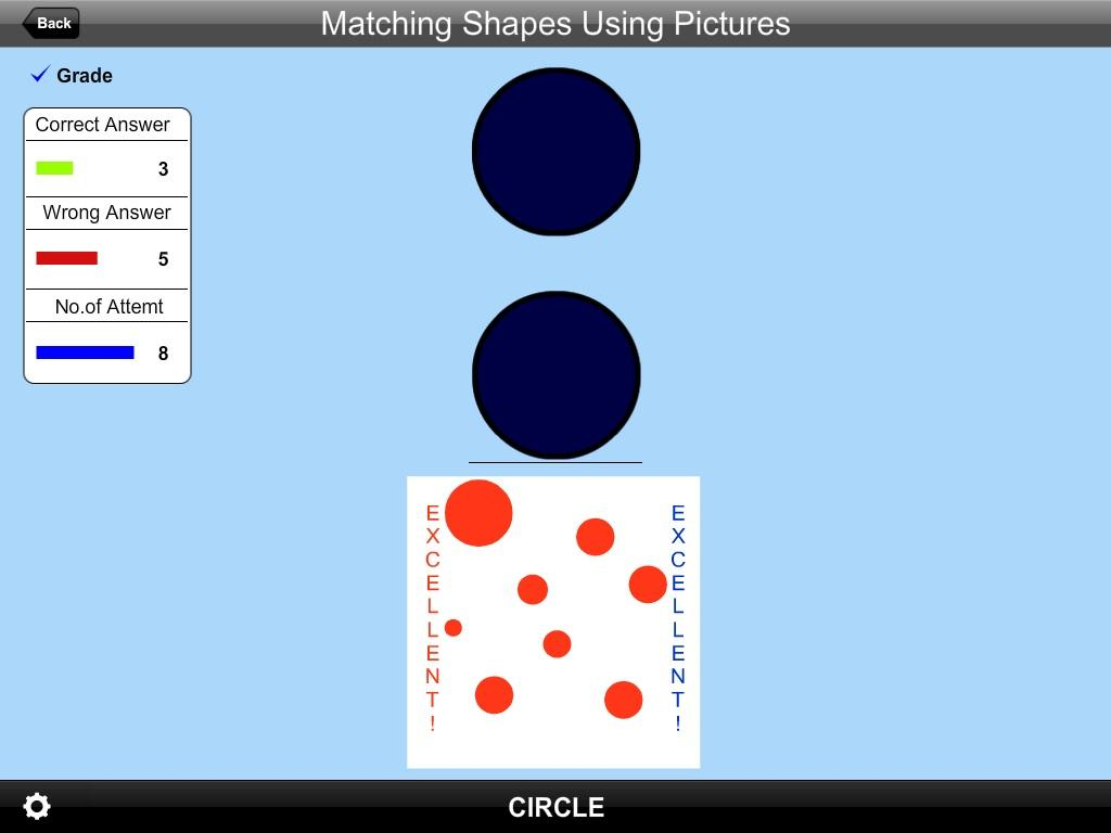 Matching Shapes Using Pic Lite- screenshot