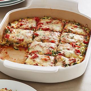 Fresh Vegetable Lasagna Bake