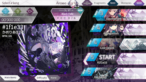 Arcaea - New Dimension Rhythm Game apklade screenshots 2