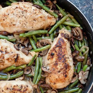 Chicken Green Bean Mushroom Recipes.