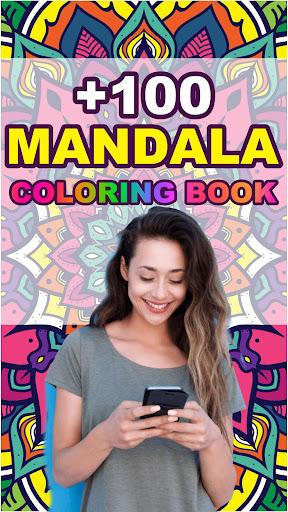 Mandala Coloring Book for Free screenshot 1