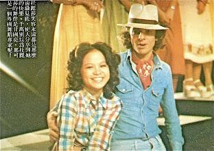 Photo: The Weaver Girl & The Cowherd -  TVB Jade Mid-Autumn Moon Festival Special 1975. Teresa Carpio [The Weaver Gal] Andrew Bull [The Cowherd] !
