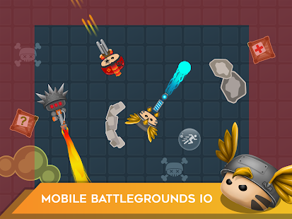 Mobg.io Survive Battle Royale Screenshot