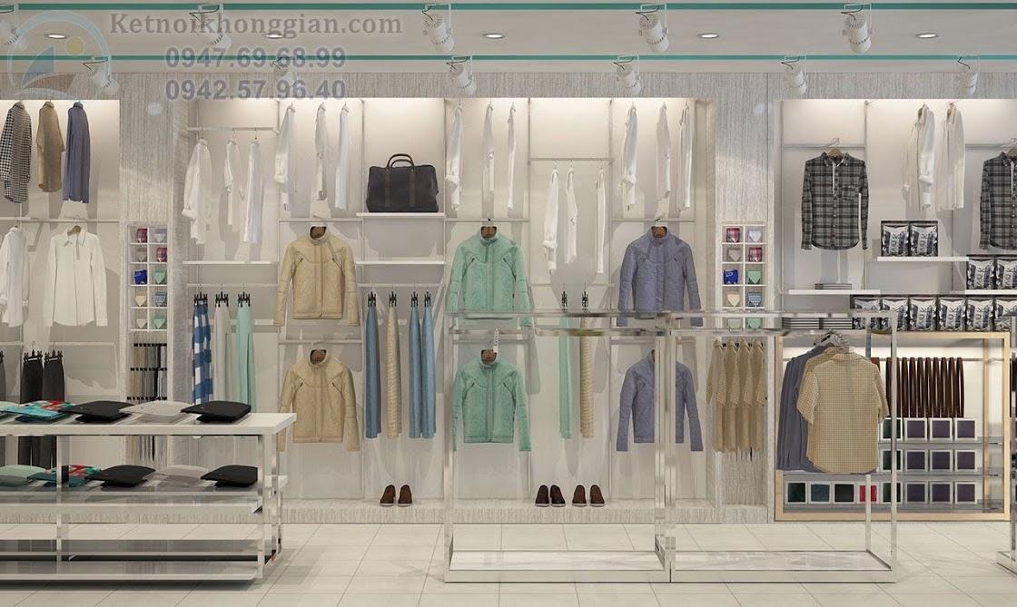 thiết kế shop thời trang nam nữ sáng tạo