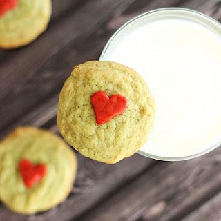 Grinch Cookies / Pistachio Pudding Cookies
