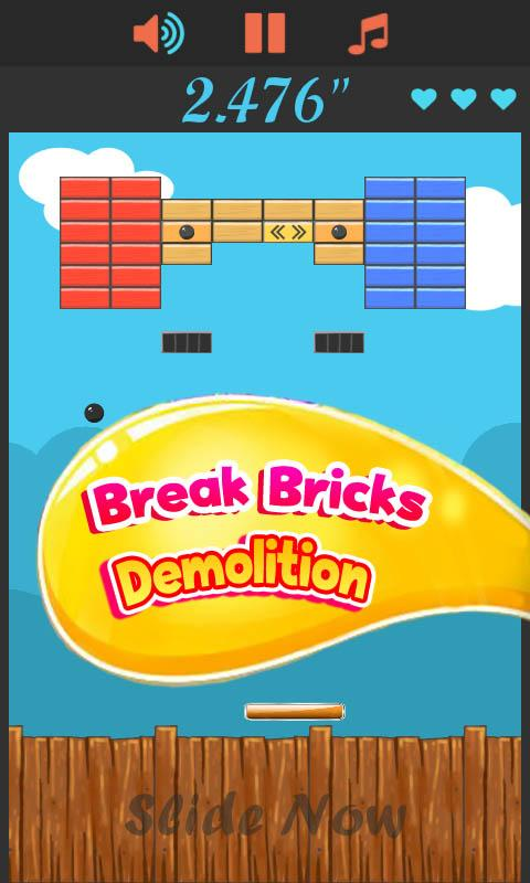 Break Bricks Demolition- screenshot