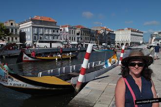 Photo: Este es el Canal Central donde se concentran los moliceiros que te llevan de paseo por los canales.