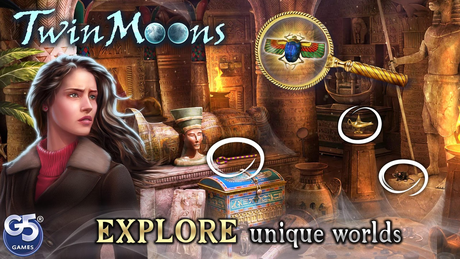 Twin Moons®: Object Finding Game- screenshot