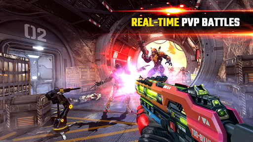 SHADOWGUN LEGENDS - FPS PvP and Coop Shooting Game 1.0.2 screenshots 2