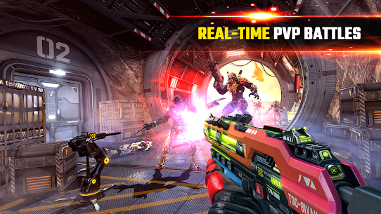 SHADOWGUN LEGENDS MOD APK v1.0.5 (Mod,Enemies Do Not Attack) 2