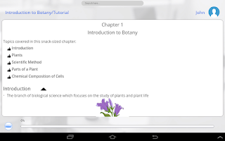 Screenshot of Learn Botany by GoLearningBus