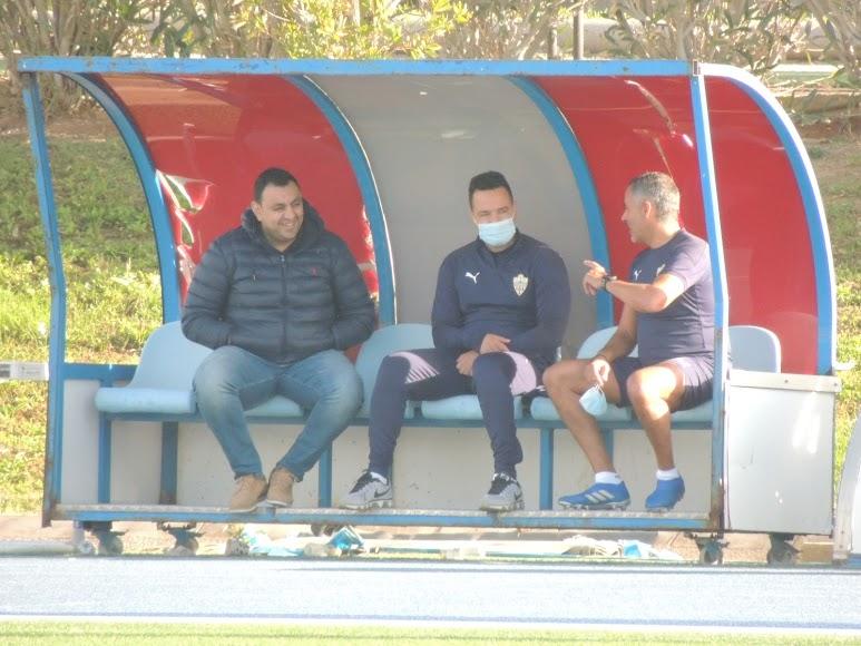 Mohamed Adel, Diego Maziel y José Gomes.