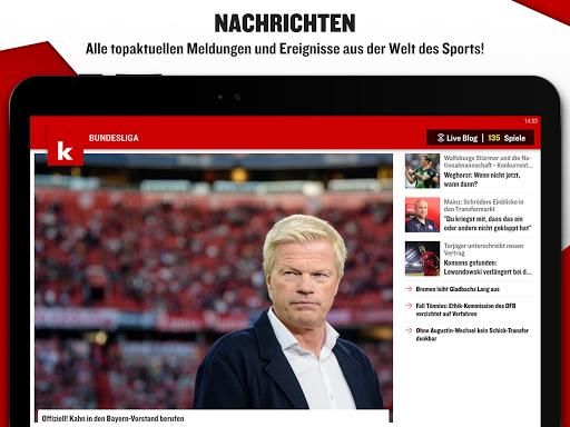 kicker Fußball News 6.6.0 screenshots 9