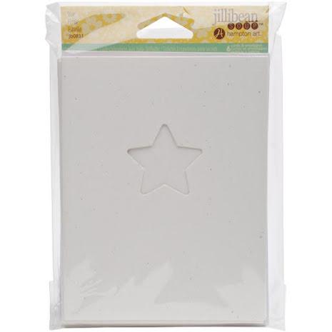 Jillibean Soup Shaker Cards/Envelopes 6/Pkg - Star UTGÅENDE