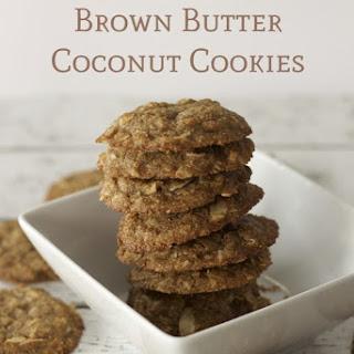 Brown Butter Coconut Cookies Recipe