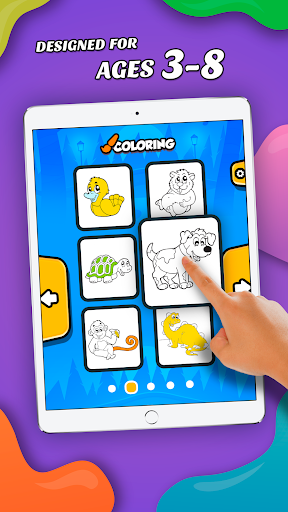ud83dudd8cufe0f Coloring Pages: Animals - for Kids and Family cheat screenshots 2