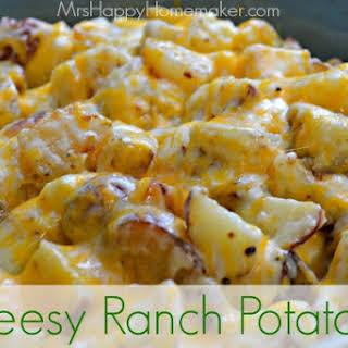 Cheesy Ranch Potatoes – My Favorite Potato.