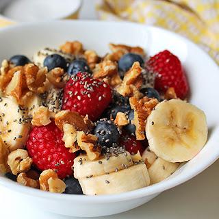 Berry Coconut Breakfast Bowl.