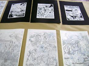 Photo: Exposição de trabalhos dos artistas convidados