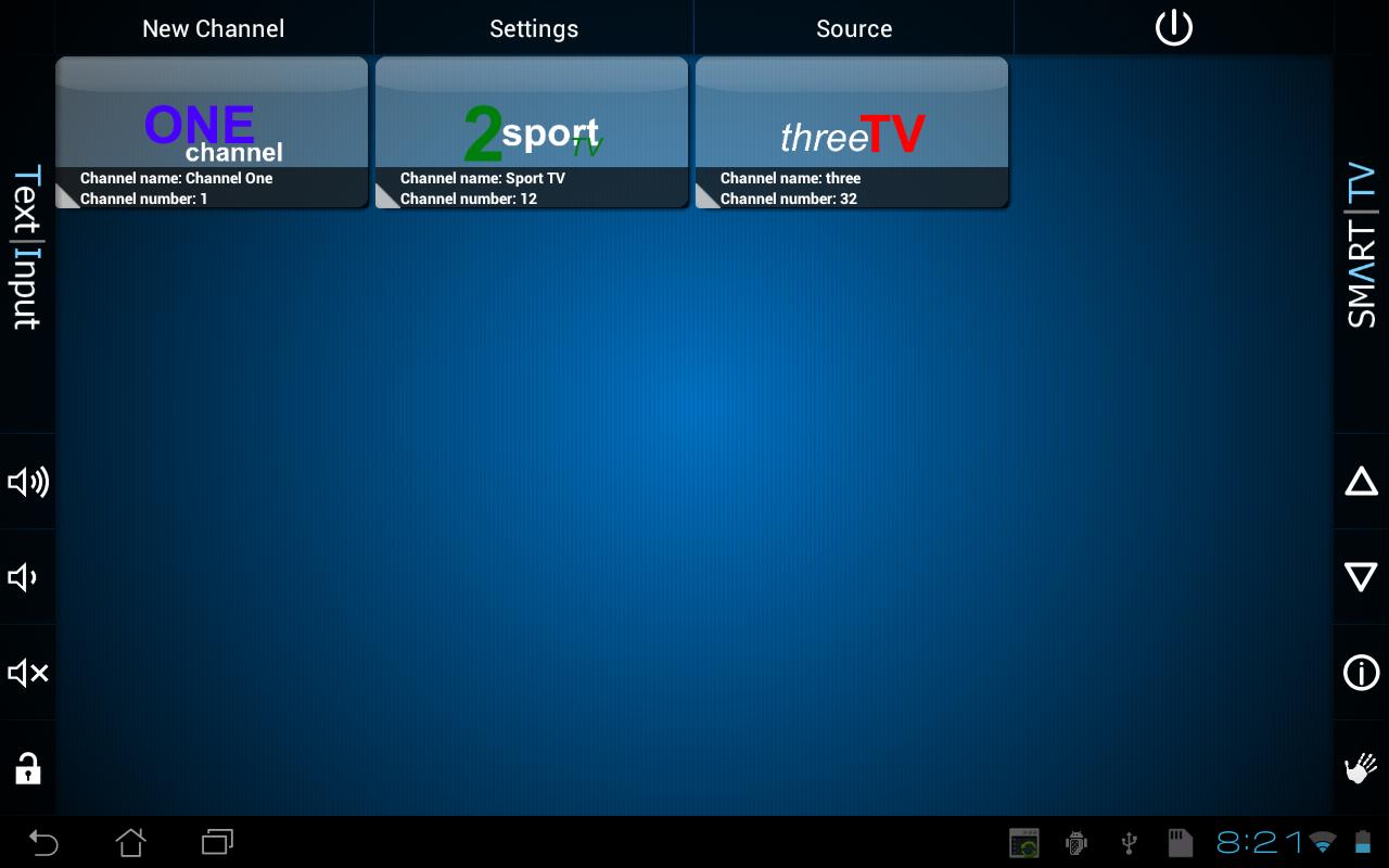 Smart TV Remote Tab - screenshot