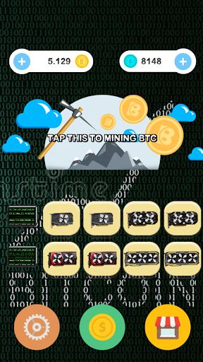 Bitcoin Mining BTC Games  screenshots 1