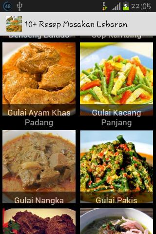 10+ Resep Masakan Lebaran