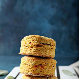 Sage Sweet Potato Olive Oil Biscuits.