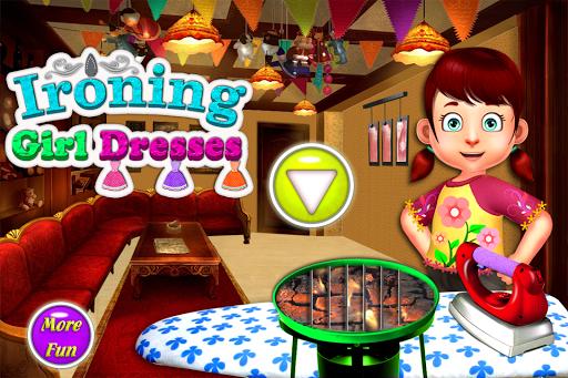 熨燙衣服的女孩遊戲