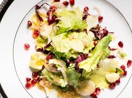 Salad With Pomegranate Seeds Recipe