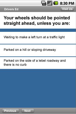 drivers permit test answers nj