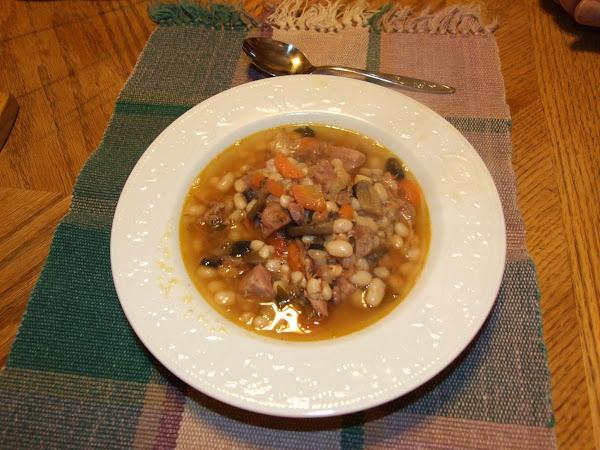 3 Day Ham Bone Bean Soup Recipe