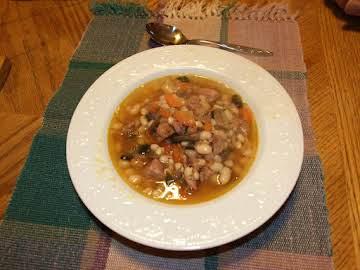 3 Day Ham Bone Bean Soup