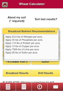 Crop Nutrient Calculators- screenshot thumbnail