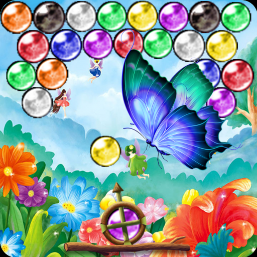 Flowers Blossom Bubble Shooter